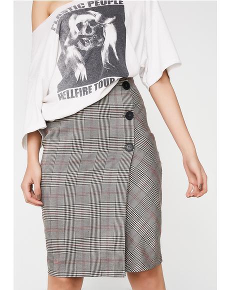 Teach or Preach Pencil Skirt