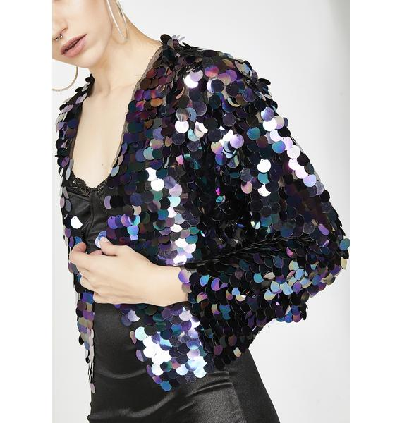 Disco Heaven Sequin Jacket