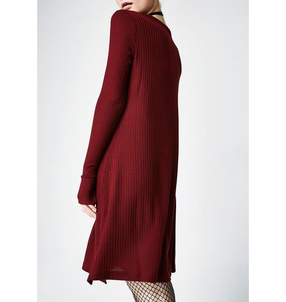 Lira Clothing Vino Maven Thermal Dress