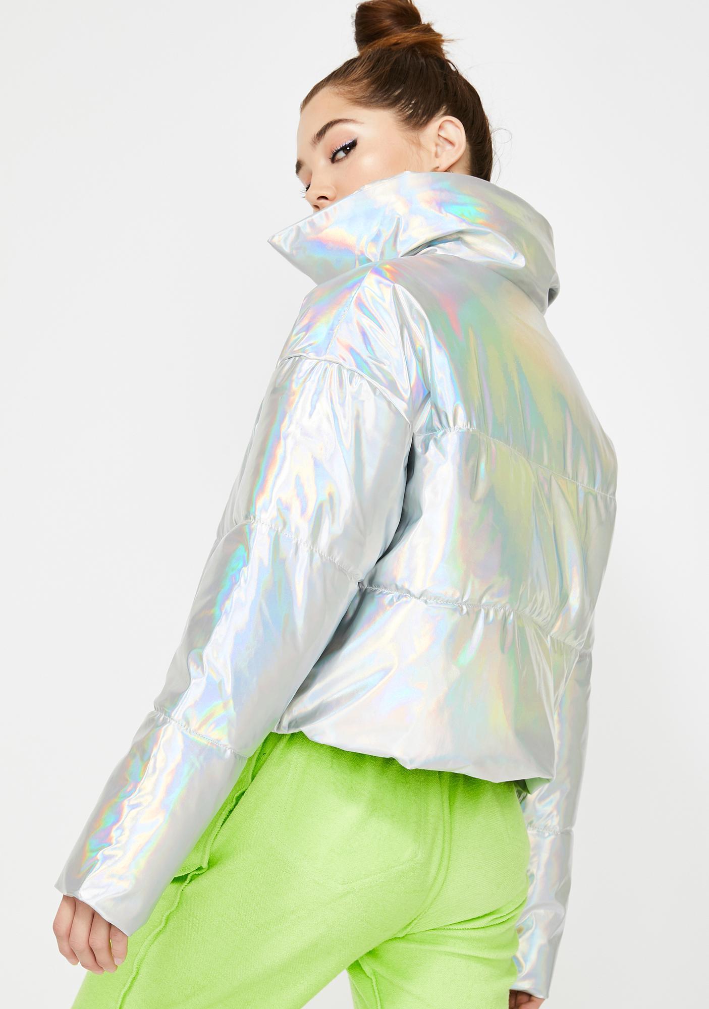 AZALEA WANG Bombay Puffer Jacket