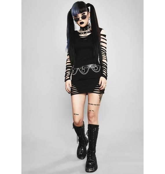 Widow Portal To Hell Shredded Dress