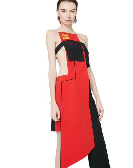 Bridgestone Deconstructed Dress