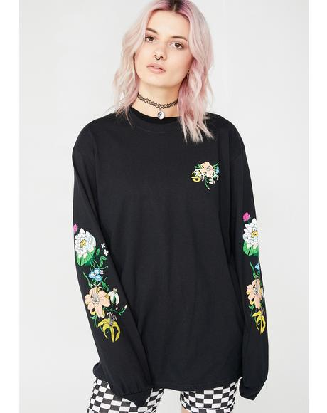 Blooming Nerm Long Sleeve Tee