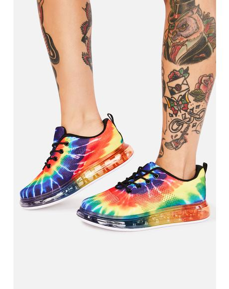 Cosmic Clubland Sneakers