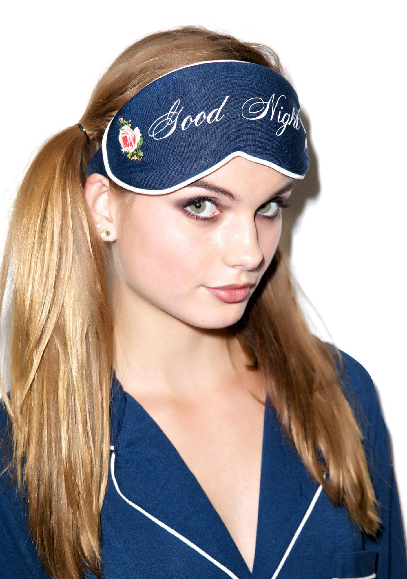 Wildfox Couture Good Night Eye Mask