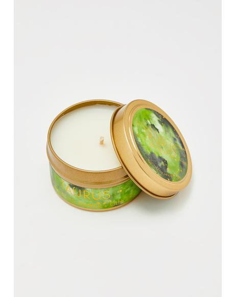 Taurus Astrological Travel Candle