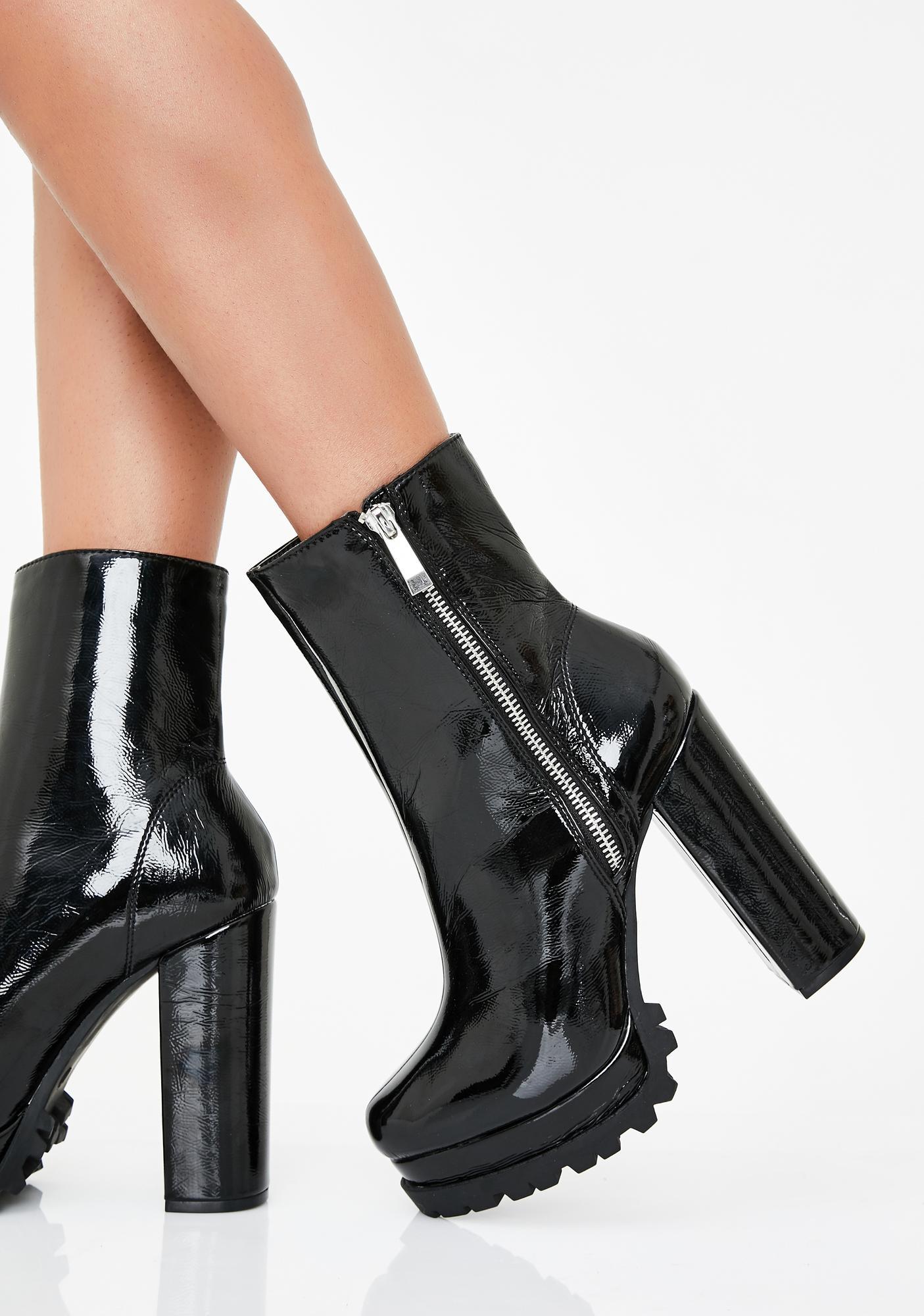 Kickin' Azz High Heel Boots