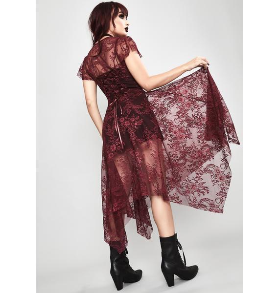Widow Wine Dearly Departed Lace Dress