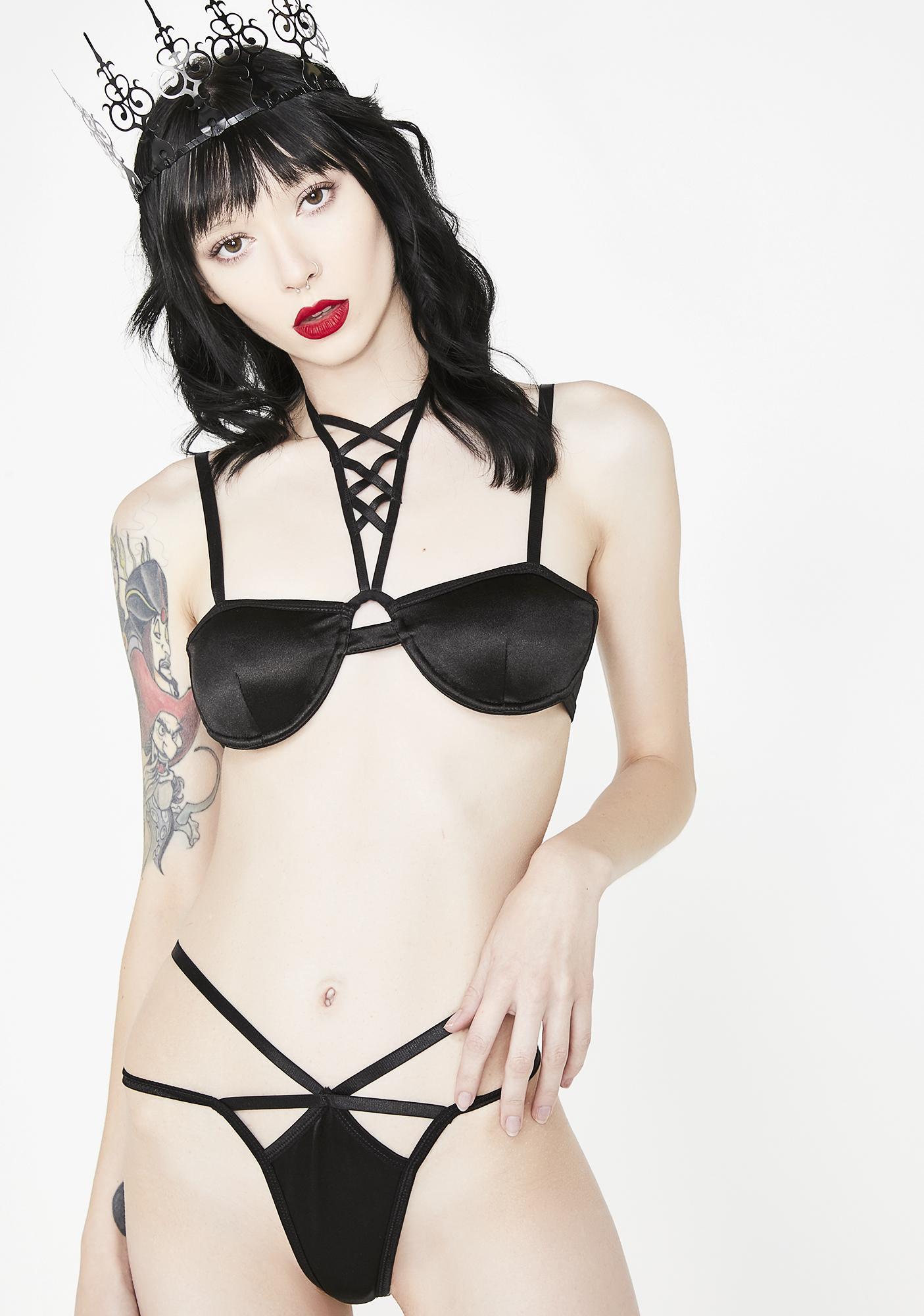 Sugar Thrillz Seductive Spell Caged Panties