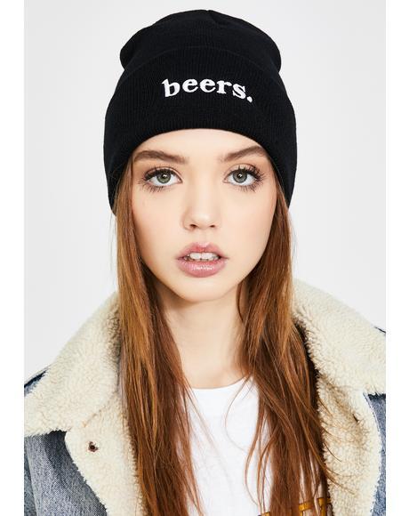 Beers Knit Beanie