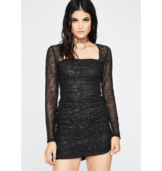 Claws Out Mini Dress