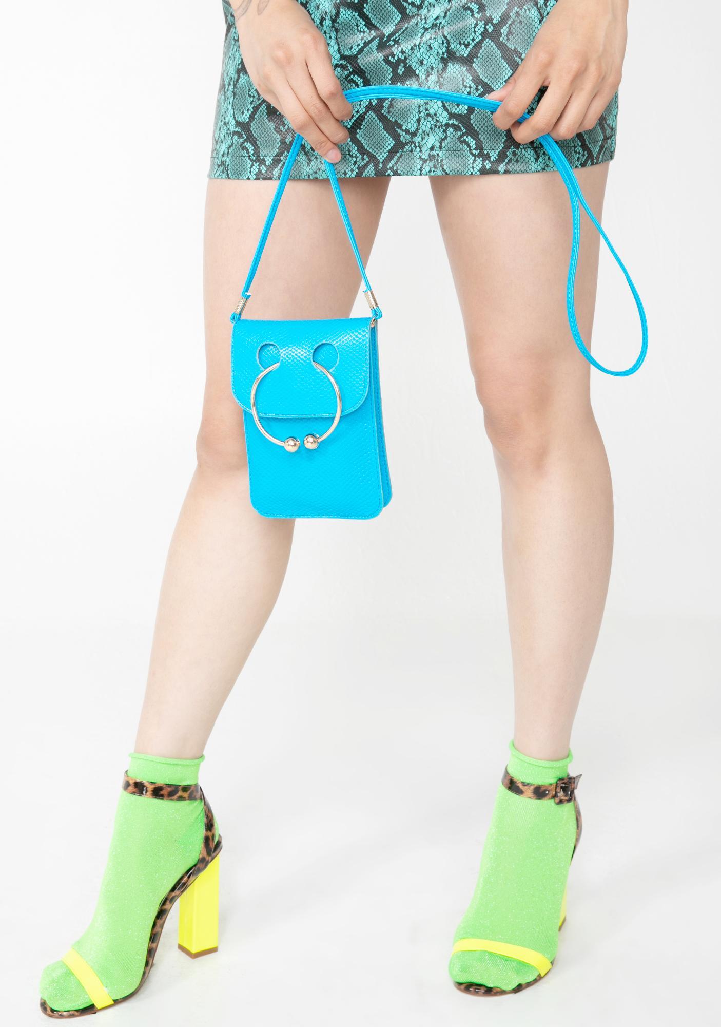 Aqua Street Forces Pierced Bag