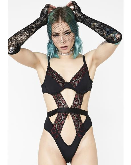 Heat Wave Underwire Bodysuit