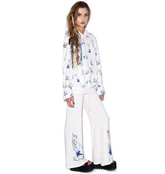 Wildfox Couture Fox Toile Baggy Beach Pant