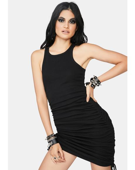 Slick Pointin' Fingers Tank Dress