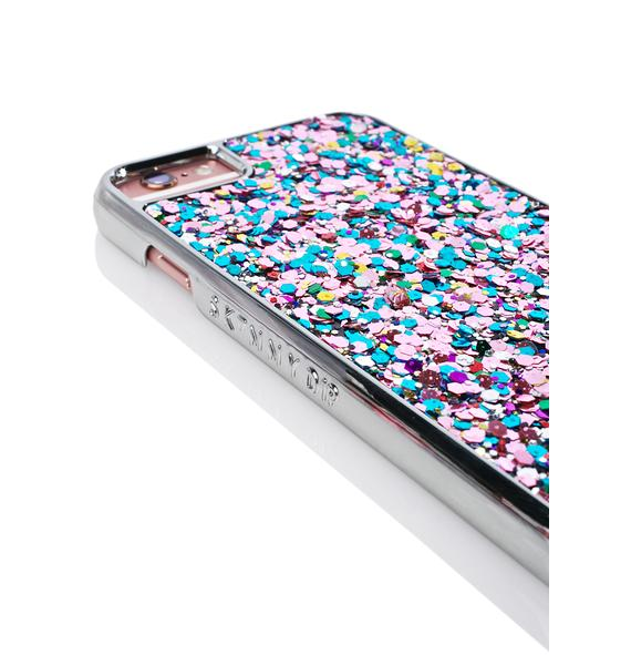 Skinnydip Ely Glitter iPhone Case