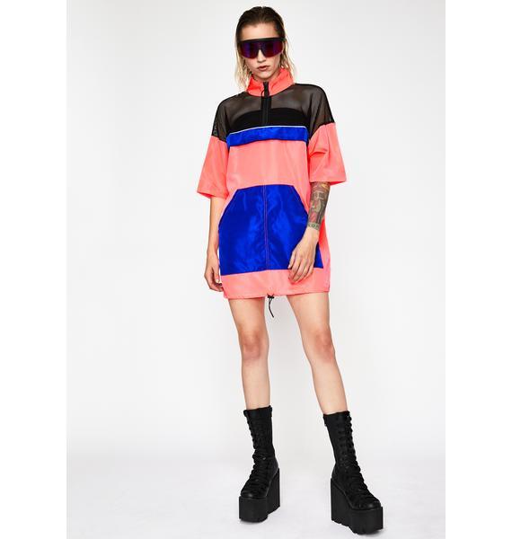 Sweet Radioactive Remix Neon Dress