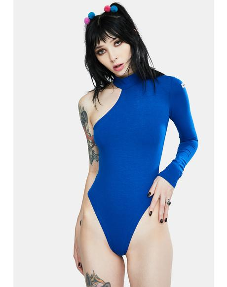 The Sexy Blue Bodysuit