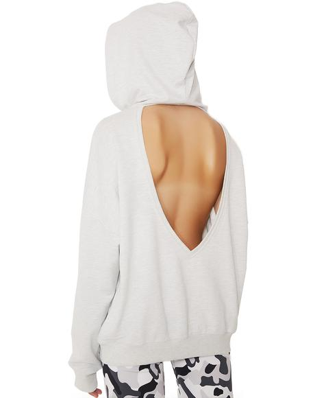 Ur Welcome Cut-Out Hoodie