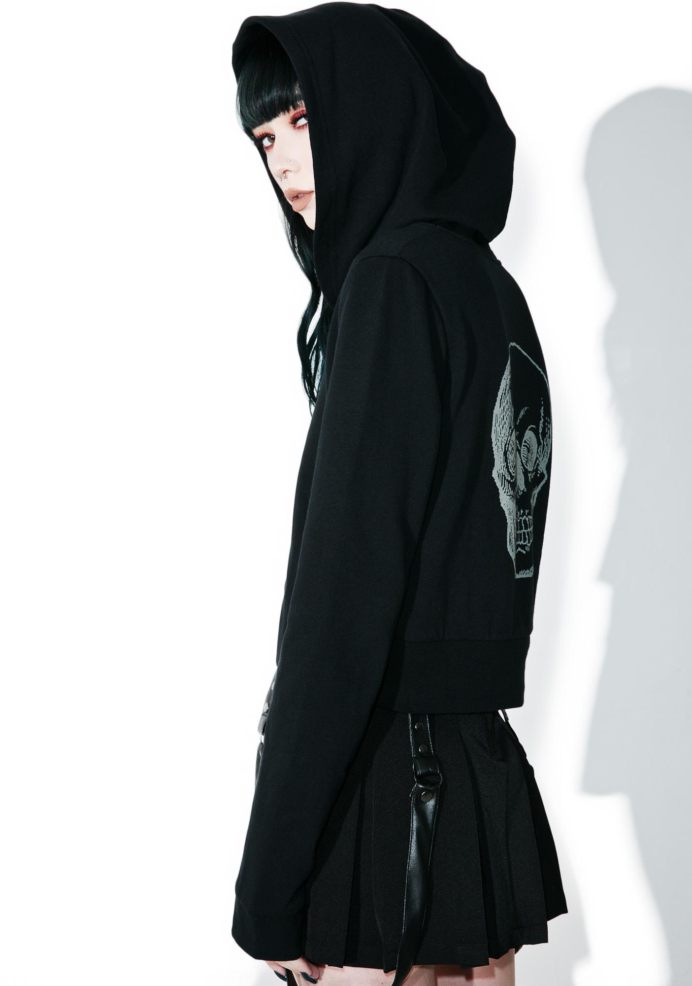 Sourpuss Clothing Got Yer Skull Hoodie