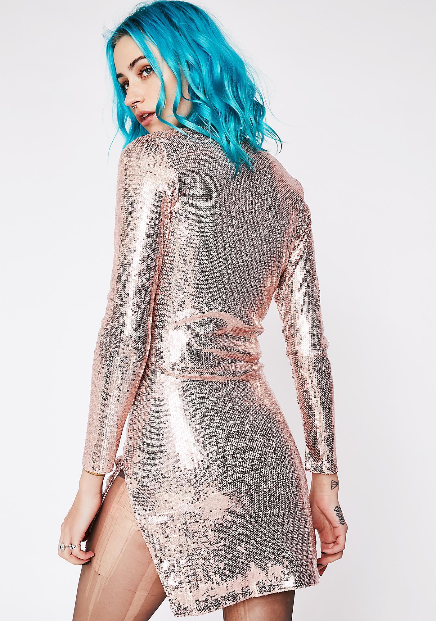 Captivated Sequin Mini Dress