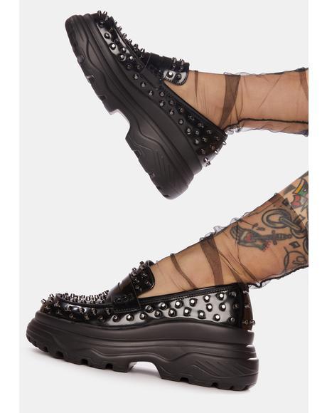 Swarm Studded Myth Loafers