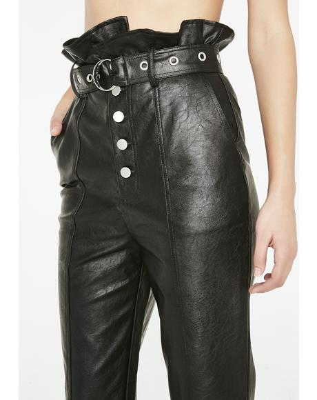 Bad Blood Belted Pants