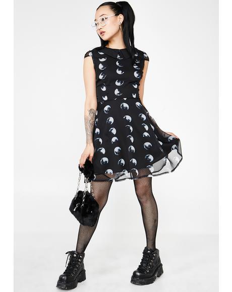 Moon Stone Skater Dress