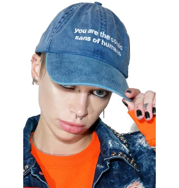 Jac Vanek Comic Sans Dad Hat