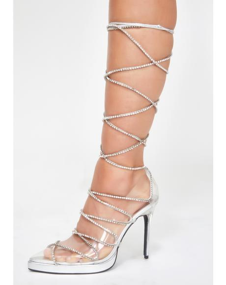 Cover Star Lace Up Heels