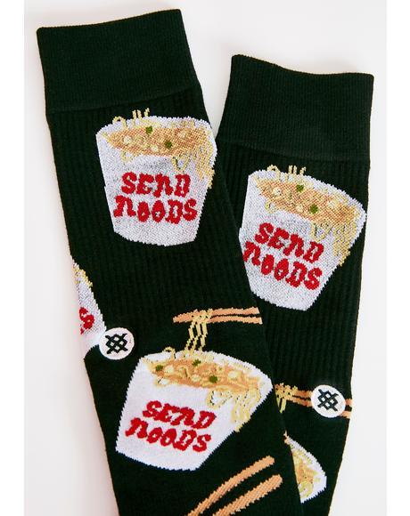 Noods Crew Socks