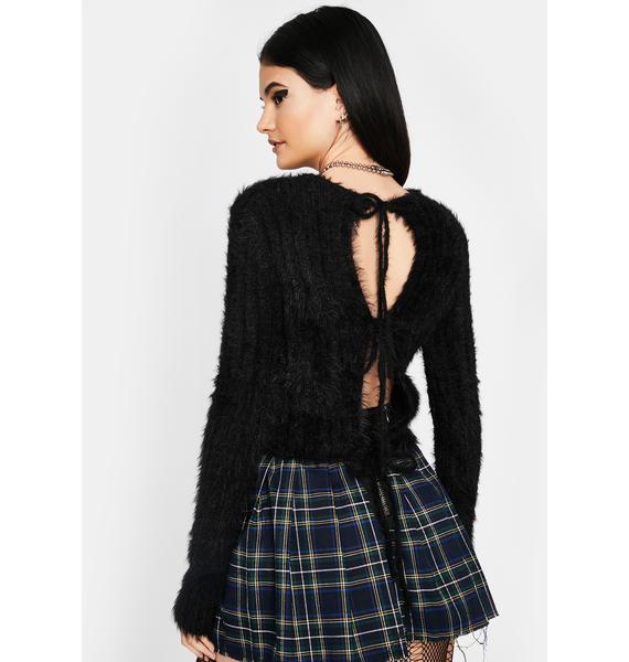 Raven City Chic Knit Sweater