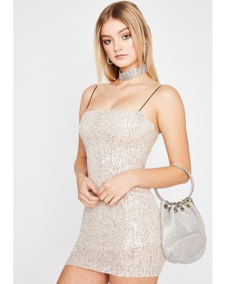 Glitz N' Glam Mini Dress