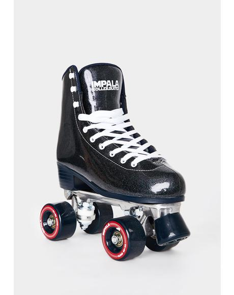 Midnight Black Quad Skates