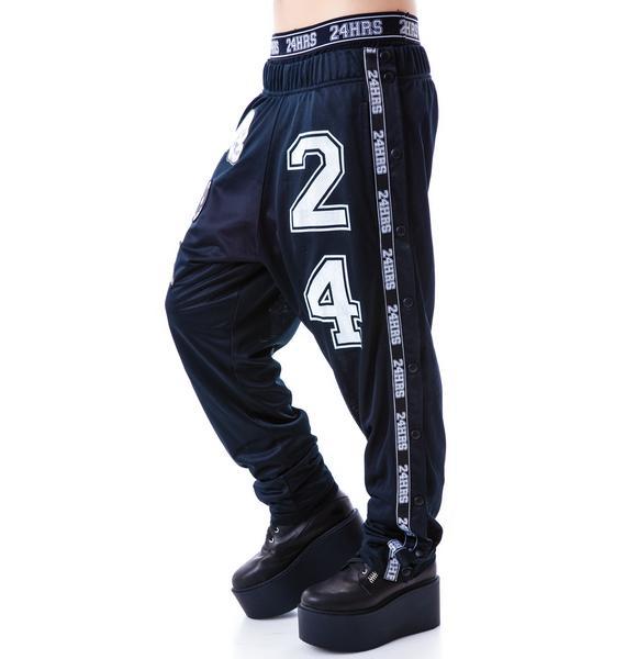 24HRS Needle Fit Snap Away Pants