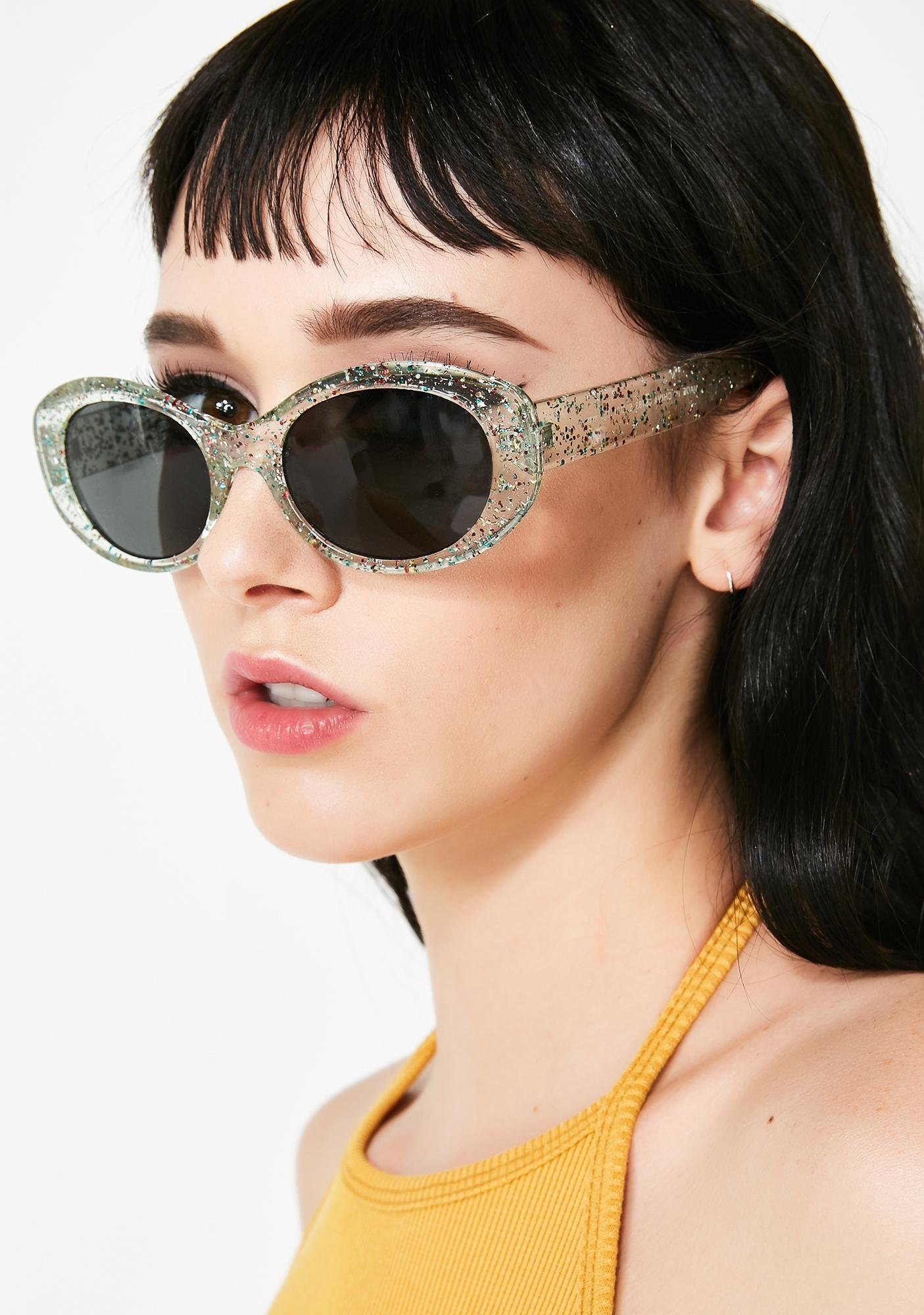 1d47c1ca235b Twinkle And Shimmer Glitter Sunglasses