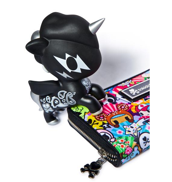 Tokidoki Unicorno 10 Year Vinyl Toy in Black