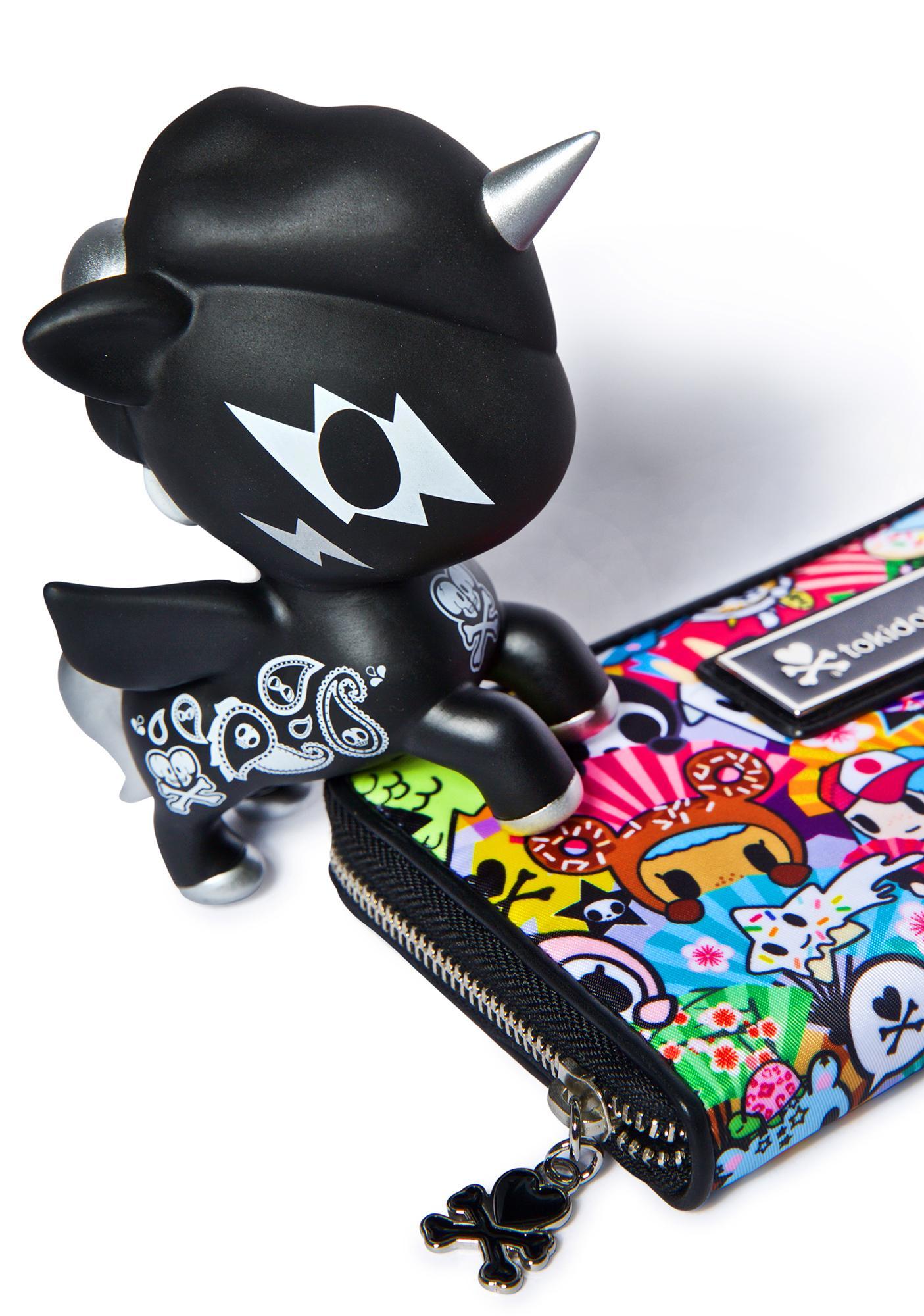 Tokidoki Unicorno 10 Year Vinyl Toy in Black