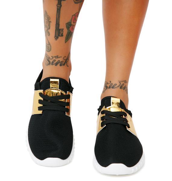 Onyx Precious Metals Sneakers