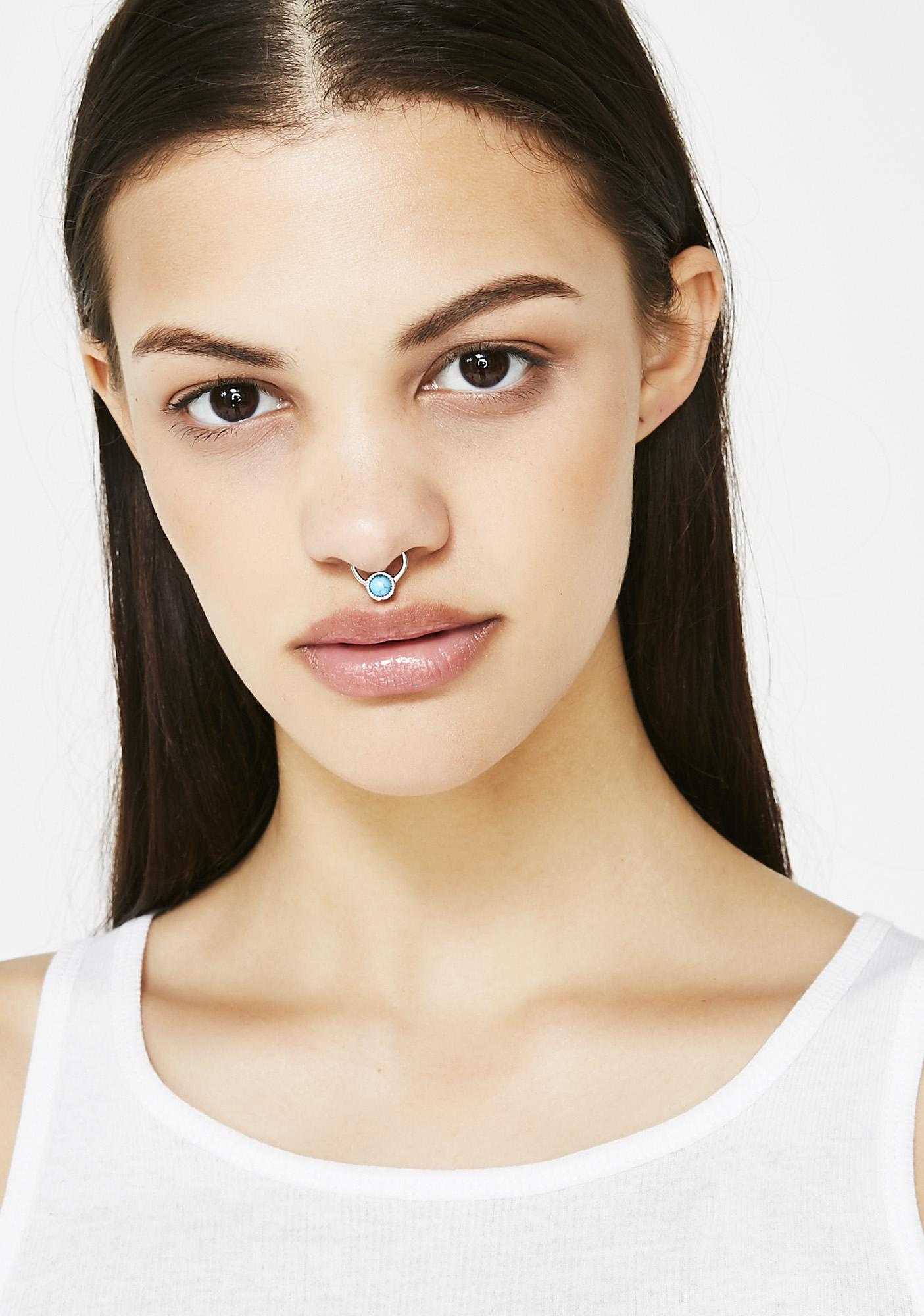 Simply Blue Septum Ring