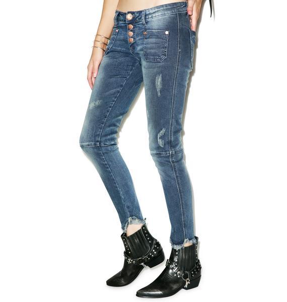 One Teaspoon Royale Bleu Super Duper Jeans