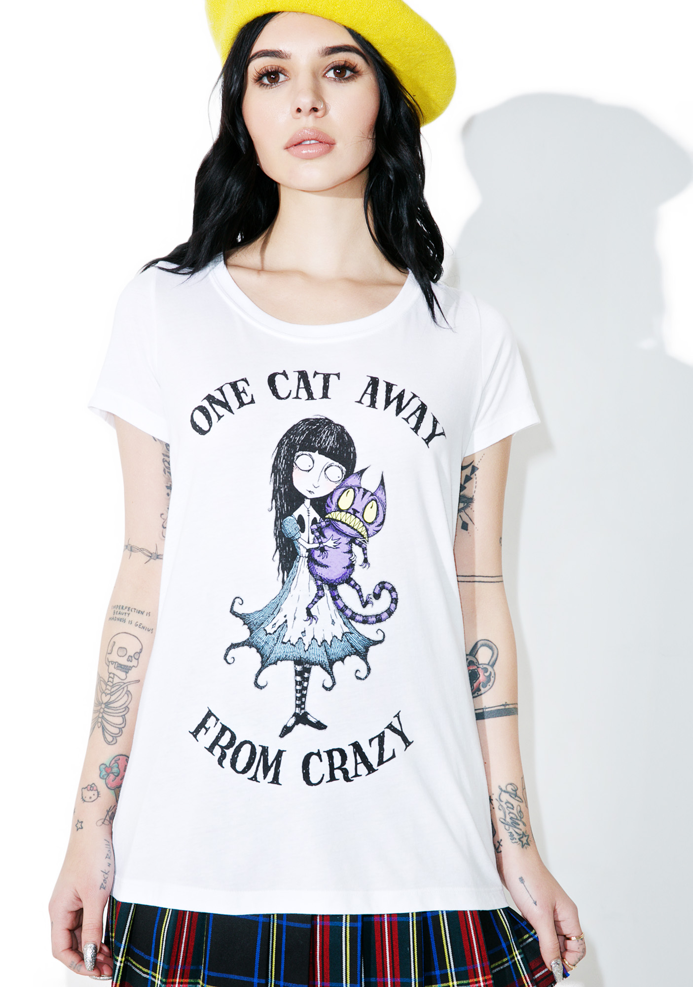 Crazy Cat Lady Graphic Shirt