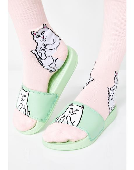 Mint Lord Nermal Slides