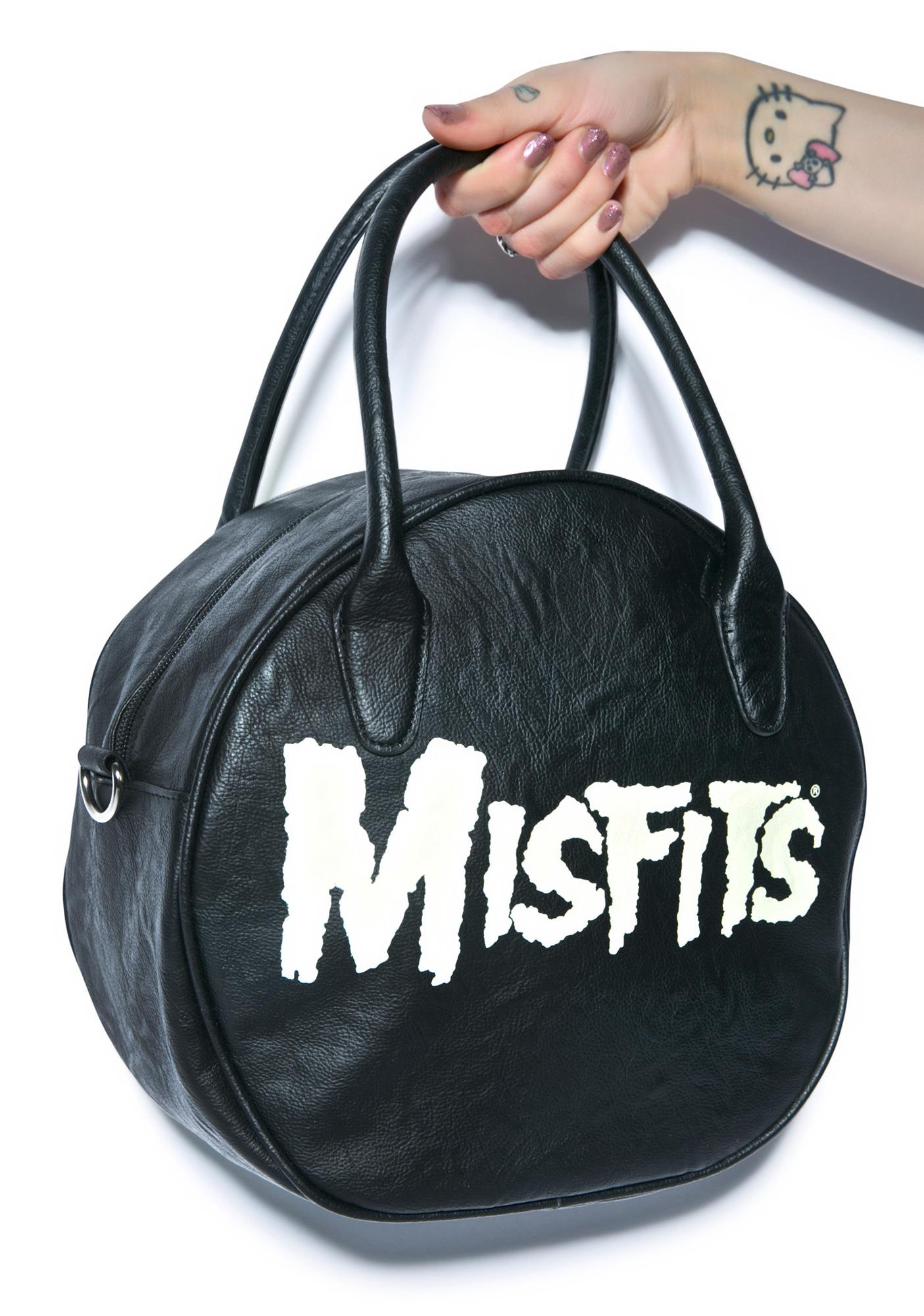 Iron Fist Misfits Glow In The Dark Purse