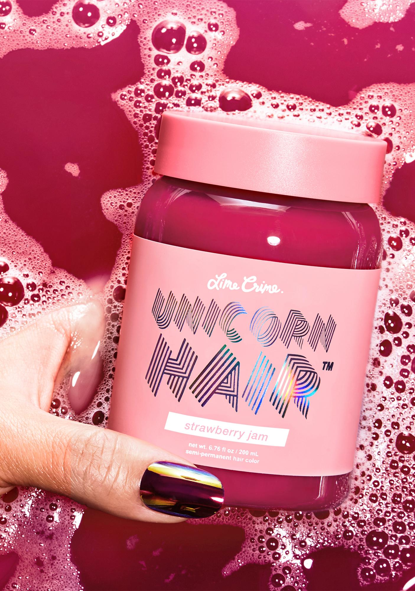 Lime Crime Strawberry Jam Unicorn Hair Dye