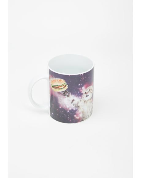 Galaxy Cat Coffee Cup