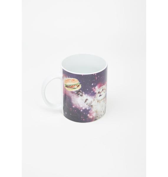 Galaxy Cat Coffee Cup