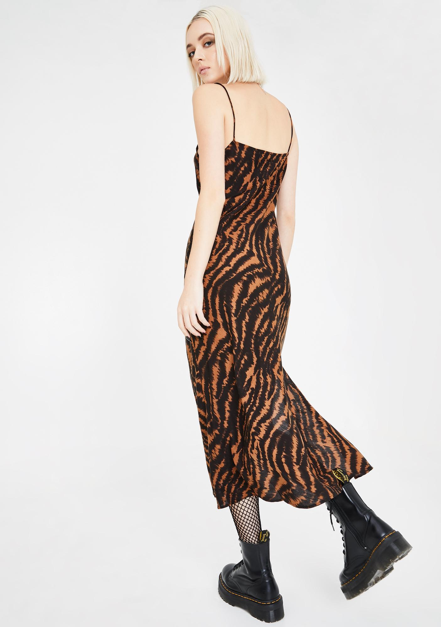 Motel Animal Quincy Midi Dress