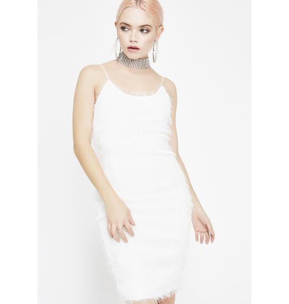 Chill Pick Me Up Fuzzy Dress