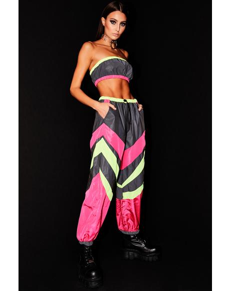Electric Energy Reflective Pant Set